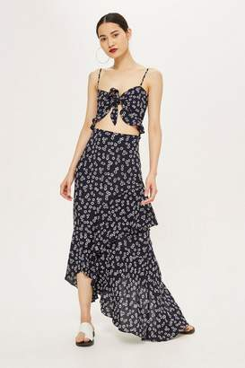 Flynn Skye Bridal Daisy Print Maxi Dress by