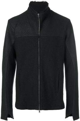 Lost & Found Ria Dunn panelled zip coat