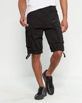 G Star Raw Black Rovic Cargo Shorts