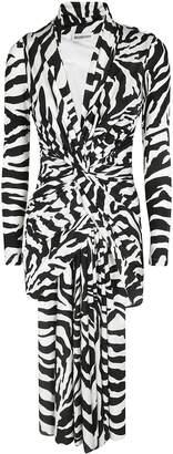 Balenciaga Animal Print Dress