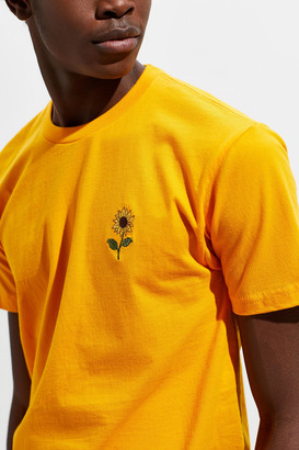 Urban Outfitters Embroidered Sunflower Tee