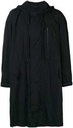 Issey Miyake loose-fitted raincoat