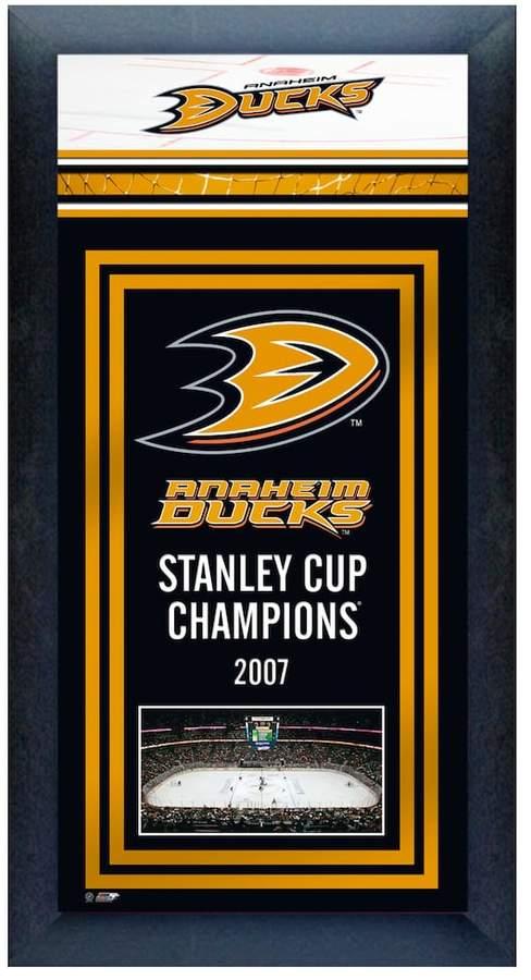 Anaheim Ducks Stanley Cup® Champions Framed Wall Art
