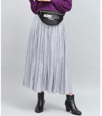 ViS (ビス) - ViS シャイニーサテンロングスカート