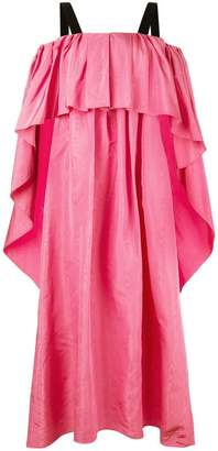 ADAM by Adam Lippes Moire pleated gown