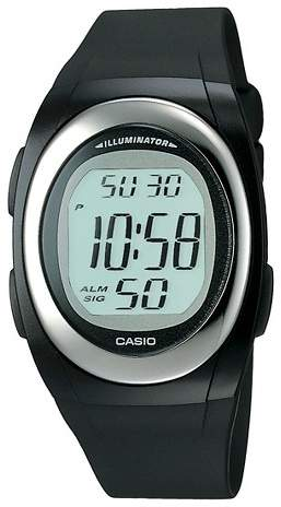 Casio Men's Casio Digital Watch - Black (FE10-1A)