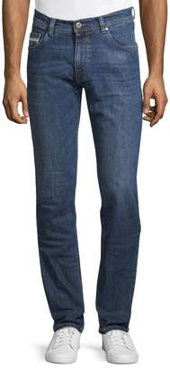 Bugatti 5-Pocket Straight-Legged Jeans