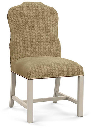 Bunny Williams Home Jack Side Chair - Hexagonal Beige