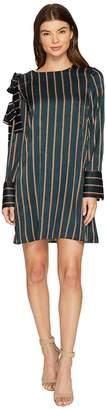 J.o.a. Stripe Shift Dress Women's Dress