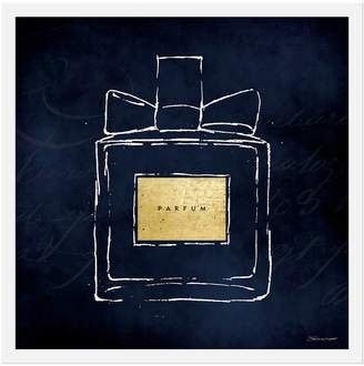 Gallery Direct Parfum on Blue I by Stephanie Marrott (Framed)