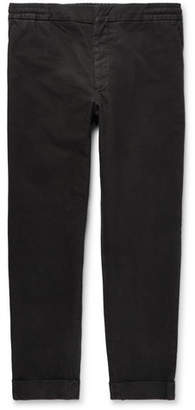 Barena Puppytooth Stretch-Cotton Drawstring Trousers