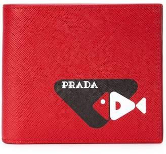6f77760a71a48a Prada Red Men's Wallets - ShopStyle