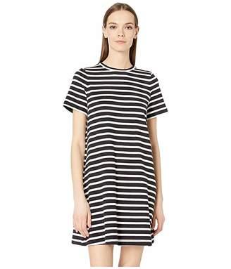 Kate Spade Stripe Zip Back Knit Dress
