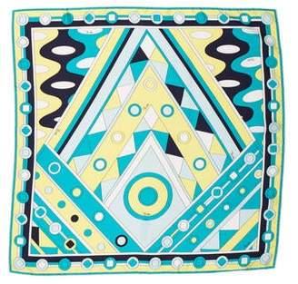 Emilio Pucci Silk Pucci Print Scarf