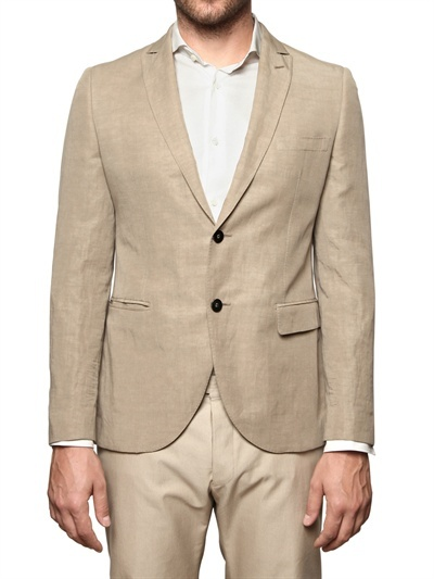 Tonello Linen Canvas Jacket