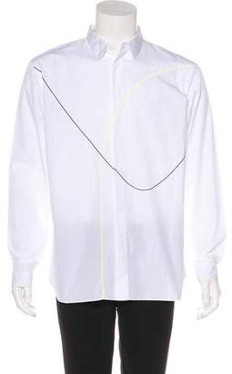 Christian Dior Woven Dress Shirt