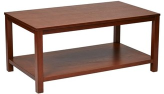 "Office Star AVE SIX by Products Merge 42"" Rectangular Cocktail Table"