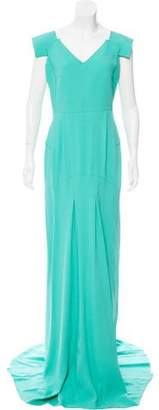 Roland Mouret Structured Maxi Dress