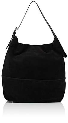 Barneys New York Women's Suede Hobo Bag - Black