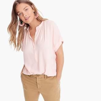 Point Sur drapey popover shirt