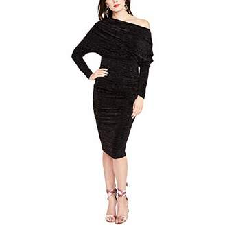 Rachel Roy Women's Off The Shoulder Lurex Jersey Dress