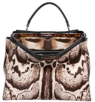 Fendi Medium Ponyhair Peekaboo Bag