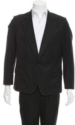 Dries Van Noten One-Button Notch-Lapel Blazer