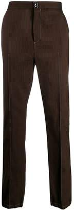 Acne Studios striped wool trousers