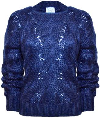Prada Cable Knit Pullover