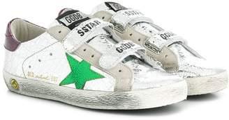 Golden Goose Kids sstar velcro sneakers