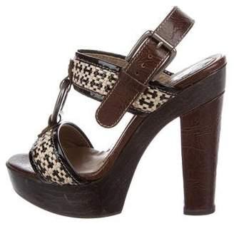 Marni Woven Platform Sandals