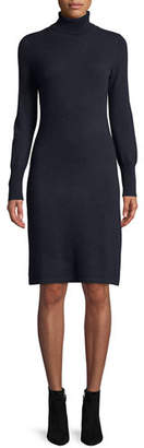 Neiman Marcus Cashmere Turtleneck Sweater Dress