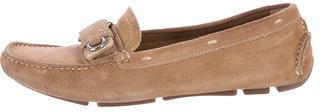 pradaPrada Suede Driving Loafers