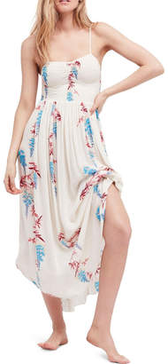 Free People Beau Print Slip-Dress