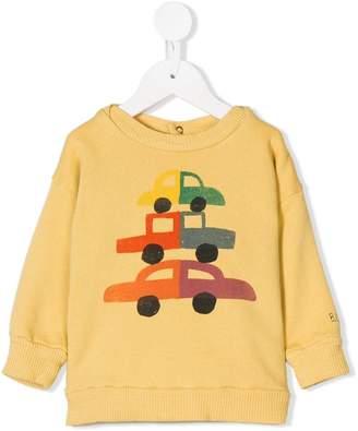 Bobo Choses car print sweatshirt
