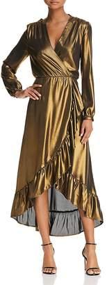 WAYF Calista Cowl-Back Wrap Dress - 100% Exclusive