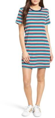 Women's Obey Darkside Stripe T-Shirt Dress $42 thestylecure.com