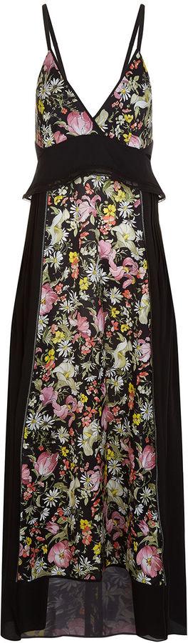 3.1 Phillip Lim3.1 Phillip Lim Black Meadow Print Cami Slip Dress