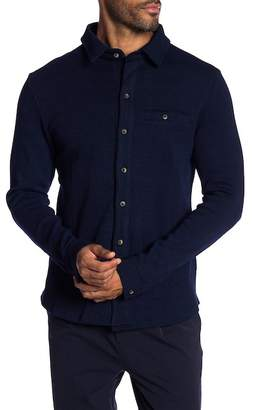 NATIVE YOUTH Flodden Waffle Knit Trim Fit Shirt