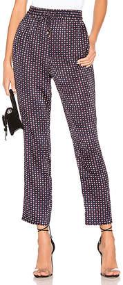 1 STATE Daisy Foulard Drawstring Soft Pant