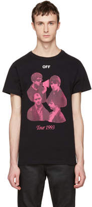 Off-White Black Tour 1993 T-Shirt