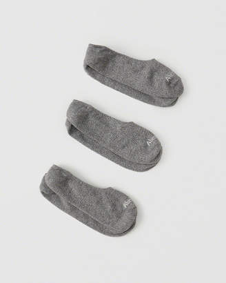 Abercrombie & Fitch 3-Pack No-Show Socks