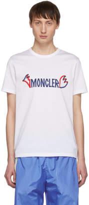 Moncler 2 1952 White Logo T-Shirt
