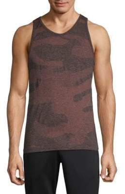 Camouflage Seamless Tank Top