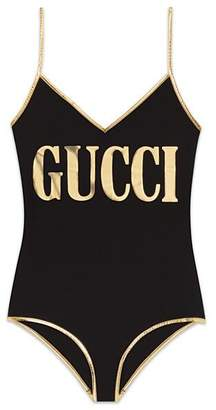 Gucci Stretch fabric swimsuit with print