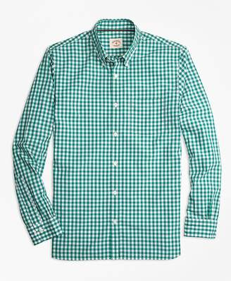 Gingham Broadcloth Sport Shirt $49.50 thestylecure.com