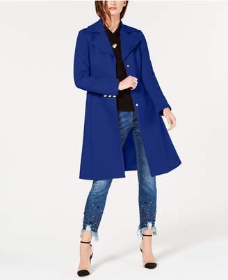 INC International Concepts I.n.c. Cotton Ponte-Knit Coat