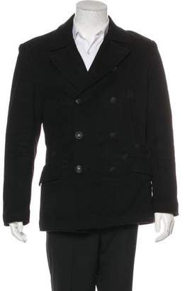 Rag & Bone Double-Breasted Wool Peacoat w/ Tags