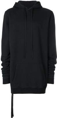 Unravel Project long-line hoodie