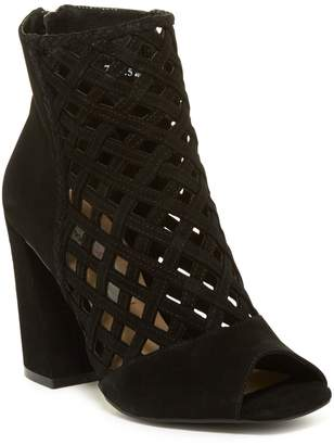 Kristin Cavallari by Chinese Laundry Luxembourg Open Toe Leather Bootie